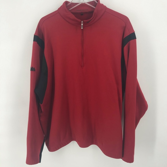 Nike Other - Red Nike Golf 1/2 Zip Pullover Men's XL